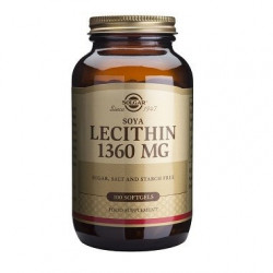 LECITINA DE SOJA 1360MG 100...