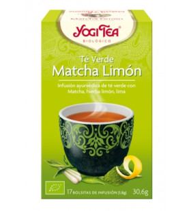 Yogi Tea Té Verde Matcha Limon