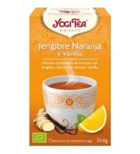 Yogi Tea Jenginbre Y Naranja
